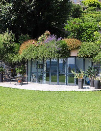 La produzione Art Metal: le verande con piscina interna.