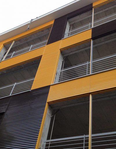 Le soluzioni Art Metal per rivestire le facciate degli edifici.